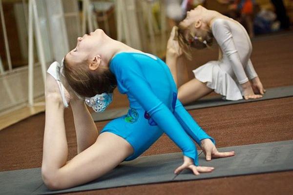 Девочек спортивная гимнастика